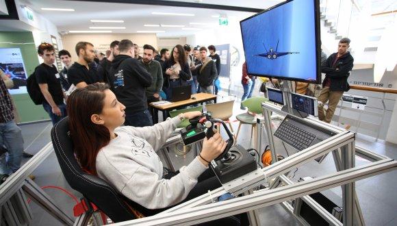 טיסת סימולציה בפקולטה להנדסה